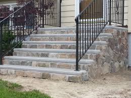 Cinder Block Stairs Precast Steps Concrete Products Services Oxford Boston Ma
