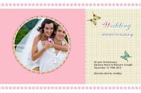 Template Anniversary Card Wedding Anniversary Card 005 Wedding Anniversery