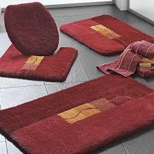 bathroom navy blue bath rug runner thick mat sets long
