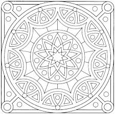 Art Coloring Pages Tiles Other Colouring Free For Girls Printable