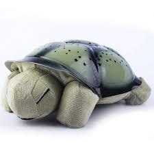 Turtle Stuffed Animal Night Light Amazon Com Pinsparkle Turtle Nightlight Projector Led Kids