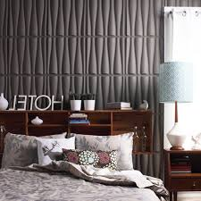Modern Wallpaper For Master Bedroom With 3d Wallpaper Ideas Grey Color Cool  3d wallpaper for home
