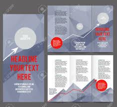 Tri Fold Corporate Identity Template Brochure Vector Design