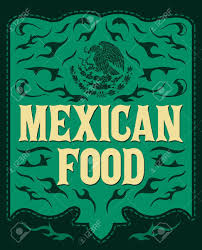 Mexican Style Graphic Design Mexican Food Vintage Restaurant Menu Design Western Style