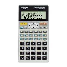 sharp calculator. sharp el738 business \u0026 financial calculator   calculators the co-op
