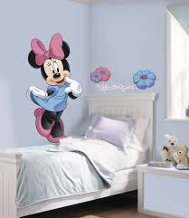 Mickey And Minnie Mouse Bedroom Decor New Giant Minnie Wall Decals Disney Stickers Kids Mickey Mouse