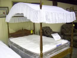 Full Size White Canopy Bed Living Girls Kits 360armenia Wood ...