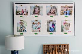 what a fun way to display family photos love love love these diy