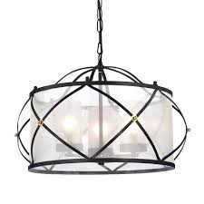 iron light fixtures 3 light orb wrought iron drum white shade chandelier ceiling fixture cast iron outdoor light fixtures