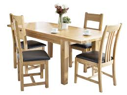 colchester small extending table and 4 ladder back chairs loading zoom