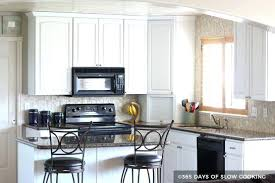 painted kitchen cabinets with black appliances. Images Of Painted Kitchen Cabinets White With Black Appliances Cupboards