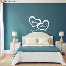 love bedroom wall stickers