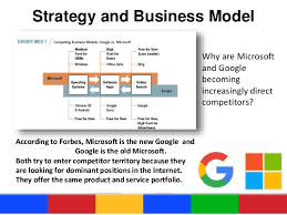 Microsoft Corporate Strategy Google Vs Microsoft Strategy Business Models