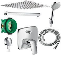 300mm Regendusche Set Dusch Unterputz Hansgrohe Logis A31 Q
