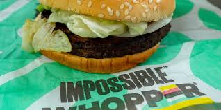 Burger King Protein Chart Burger Kings Impossible Whopper Veggie Burger Is Being