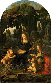 leonardo da vinci virgin of the rocks louvre jpg