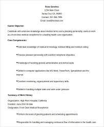 Medical Receptionist Resume Best Of Medical Secretary Resume