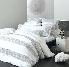 black and white coverlet quilt king shams size bedspread q57