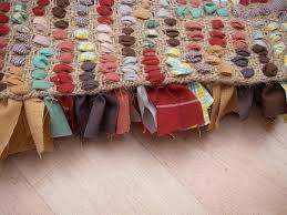Fabric Rug Diy Rag Rug Tutorial Crafthubs