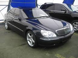 2001 Mercedes Benz S-class Pictures