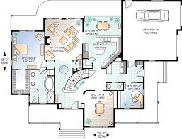 home office plan.  Plan A Home Office  2171DR Floor Plan Main Level Intended Plan
