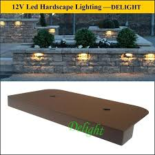 led retaining wall lights sitting wall low voltage lights yard walls lights retaining wall lights sitting