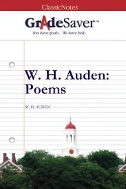 W H Auden Poems Quotes And Analysis Gradesaver