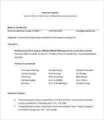 How To Write An Internship Resume Internship Internship Resume Sample Resume Templates