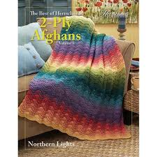 Northern Lights Crochet Pattern Best Of Herrschners 2 Ply Afghans Vol 6 Crochet Book With