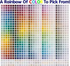 Coral Paint Color Chart Interior Paint Color Samples