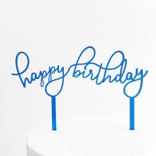 Happy Birthday Cake Topper Cupcake Printable Amazon Uk Nz Gold