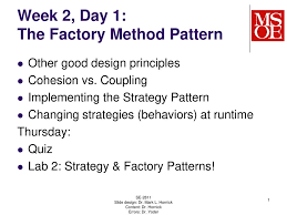 Factory Method Pattern New Decorating Ideas