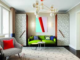 furniture motifs. 1-interior-in-mid-century-modern-style-pop- Furniture Motifs
