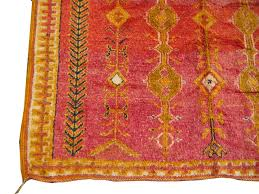 great vintage berber carpet hand knotted by the berber women of morocco these