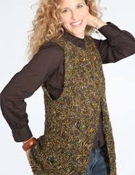 Free Knitted Vest Patterns Awesome 48 Long Vest