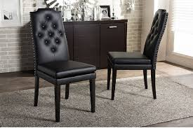 black leather dining chairs  furniture wax  polish  the