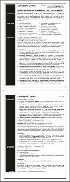 Resume Resources Templates Sample Entry Level Human Gener Sevte