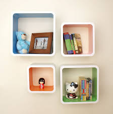 Coloured Floating Shelves Adorable Dekorkube S32 Coloured Topshelf