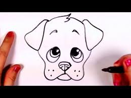 Small Picture How to Draw a Cute Puppy Face Step by Step Learn how to Draw a