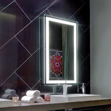 Image Bathroom Frameless Sandblast Illuminated Bathroom Backlit Led Light Wall Mirror Shanghai Essence Industrial Co Ltd China Frameless Sandblast Illuminated Bathroom Backlit Led Light