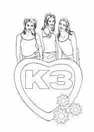 K3 Gratis Kleurplaten