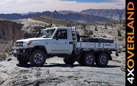 Toyota Land Cruiser 6x6. Spectacular. Dubai-Oman. Part-1 - YouTube