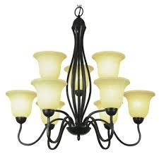 rubbed oil bronze nine light up lighting two tier chandelier from the new century collection 8169 rob elite fixtures
