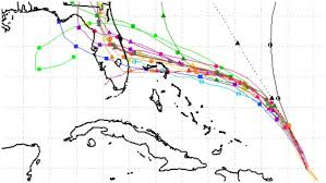 Dorian Spaghetti Models The Hurricanes Path Track