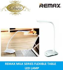remax milk series eye protect led table lamp w recharable battery