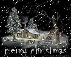 Gif Christmas Merry Christmas Snow Animated Gif On Gifer By
