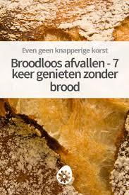 Afvallen zonder brood en aardappelen