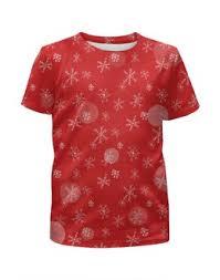 """Детские футболки c необычными принтами """"<b>christmas</b>"""" - <b>Printio</b>"""