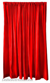 bright red flocked velvet 108 inch high curtain long panels large event wedding party tall backdrop dry display d w rod pocket top