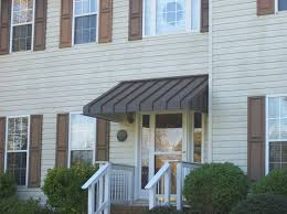 front door awningsResidential Metal Awnings